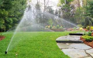 Сад — як зволожувати територію в посушливій зоні, рекомендації, відео