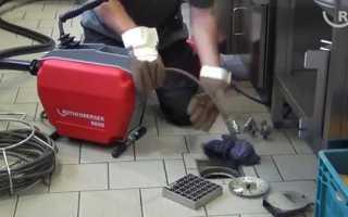 Як прочистити каналізацію, способи ліквідації засмічень, відео