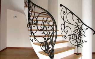 Перила для сходів в будинку — види, висота і оформлення, відео