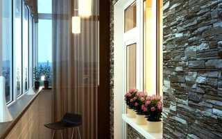 Внутрішнє оздоблення балкона і лоджії своїми руками, скління, види обробки, відео