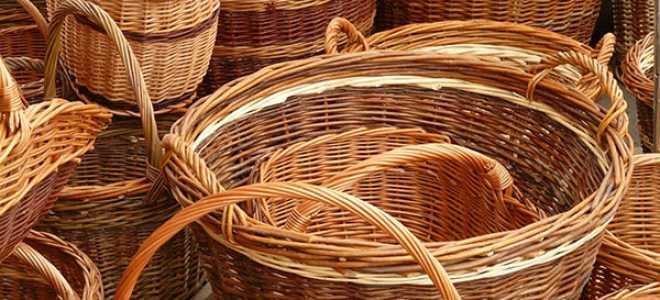 Плетіння кошиків з верби для початківців своїми руками, відео