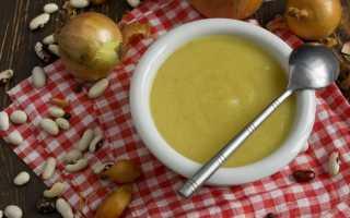 Крем-суп з консервованої квасолі. Покроковий рецепт з фото