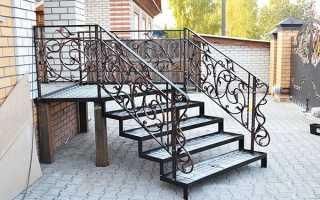 Ганок з металу — сходи, поручні, навіс, фундамент, відео