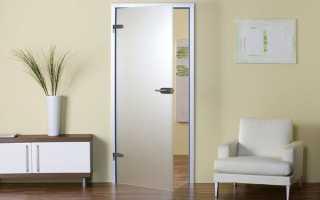 Міжкімнатні скляні двері — види, особливість установки, відео