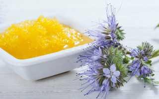 Корисні властивості меду з фацелії, як застосовувати, відео