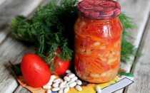 Салат з квасолею на зиму — смачні рецепти приготування грецького сала, квасолі з буряком або кабачками, відео