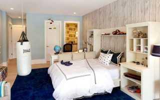 Кімната для хлопчика — оформлення стін і підлоги, освітлення, дизайн, підбір меблів, відео
