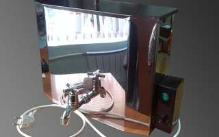 Водонагрівач для дачі — наливний з нагрівачем, умивальник Мойдодир, наливний з душем, електричний наливний, відео