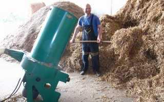 Подрібнювач сіна і соломи для приватних подвір'їв своїми руками, відео