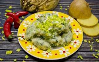 Ньокки з селерою, шпинатом і картоплею. Покроковий рецепт з фото