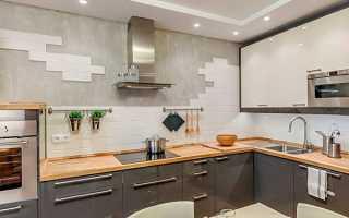 Оздоблення стін на кухні — види, вибір матеріалів, варіанти, відео