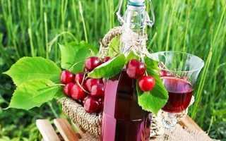 Рецепт наливки з черешні в домашніх умовах без горілки, на спирту або горілці, відео