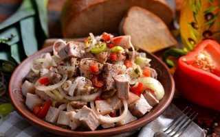 М'ясний салат «Сільський». Покроковий рецепт з фото