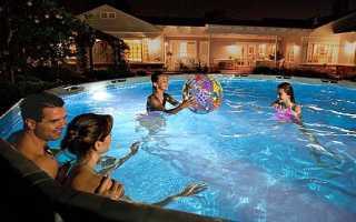 Підсвічування для басейну, зроблена в Китаї, ціна на Аліекспресс, відео