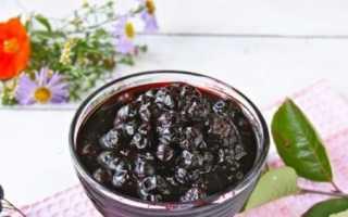 Варення з чорноплідної горобини на зиму — кращі рецепти з фото крок за кроком