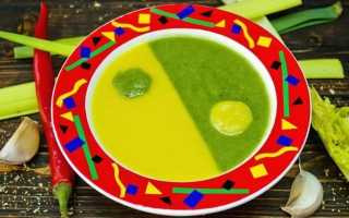 «Інь-Ян» — овочевий суп на курячому бульйоні. Покроковий рецепт з фото