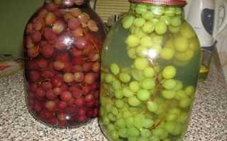 Рецепти компоту з винограду на зиму — заготовки з ізабелли, білого, відео
