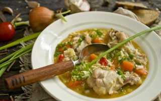 Суп з курячих крилець. Покроковий рецепт з фото