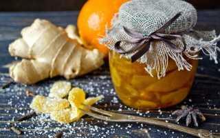 Зацукрований імбир — цукати з імбиру з апельсином. Покроковий рецепт з фото