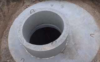 Свердловина — встановлення бетонних кілець, рекомендації, відео