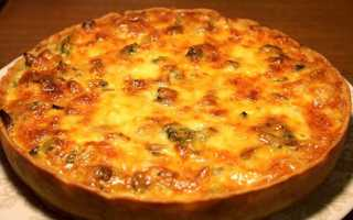 Пиріг з грибами — рецепти приготування в духовці з куркою, картоплею, фото, відео