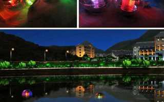 Плаваючі світильники з Китаю, технічні характеристики, відео