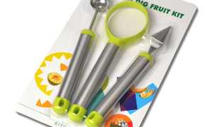 Набір ножів для фігурної нарізки овочів і фруктів, ціна, відео