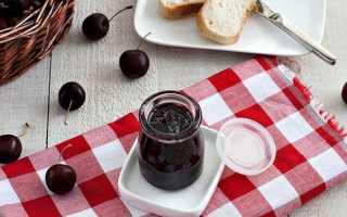 Джем з черешні без кісточок — рецепти приготування в мультиварці, з желатином, з додаванням персика, відео