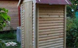 Як побудувати туалет на дачі своїми руками — розміри, креслення, фото