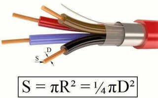 Перетин дроту — як визначити, таблиця діаметрів, відео