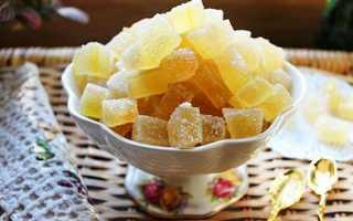 Цукати з кавунових кірок — рецепти приготування в домашніх умовах, користь і шкода цукатів, відео