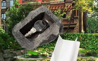 Тайник з Китаю у вигляді каменю або книги, характеристики, відео
