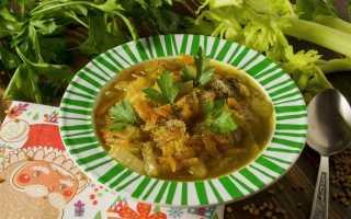 Суп з яловичини. Покроковий рецепт з фото