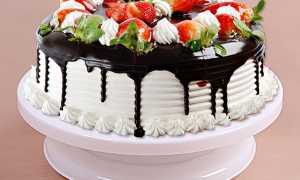 Підставка обертається для оформлення торта з Китаю, відео
