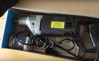 Дриль ІЕ-1035. Е-1 У2 електрична — пристрій редуктора, електричної частини, відео