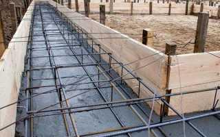 Армування стрічкового фундаменту — розміщення, діаметр арматури, відео
