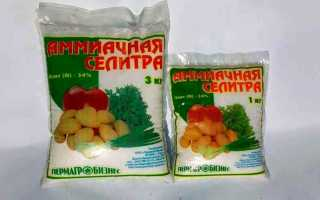 Аміачна селітра (нітрат амонію): як застосовувати добриво