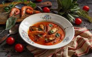 Яскравий крем-суп з морепродуктами. Покроковий рецепт з фото