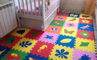 М'яка підлога для дитячих кімнат — переваги і недоліки, розміри модулів, як мити м'яка підлога, відео