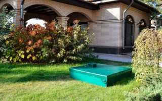 Автономна каналізація в приватному будинку — як працює, відео