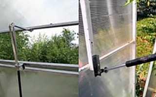 Термопрівод для теплиці своїми руками з амортизатора, відео