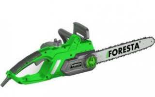 Огляд електропили Foresta FS-2640S — технічні характеристики, відео