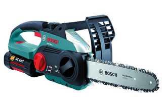 Пила ланцюгова Bosch — огляд і порівняння різних моделей, відео
