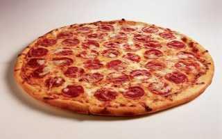 Класична піца в домашніх умовах, рецепт приготування, відео