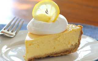 Пиріг лимонник — покрокові рецепти з пісочного і дріжджового тіста, фото, відео
