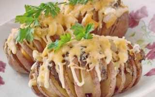 Картопля-гармошка. Печена картопля з салом під сирною скоринкою. Покроковий рецепт з фото